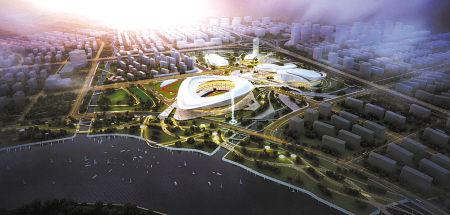 宁波奥体中心设计方案评选出炉 年底启动建设图片