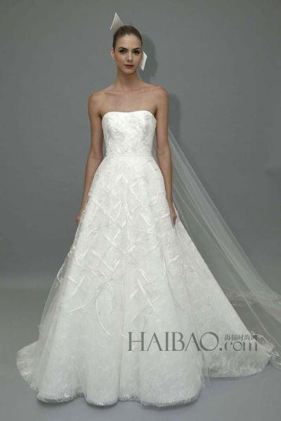 亮片刺绣打造梦幻新娘嫁衣完美礼服成就时尚