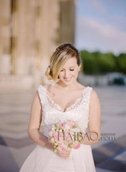 埃菲尔铁塔下举办法式婚礼 彰显优雅的法国情怀