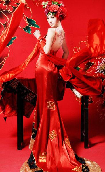 霸气中国红给你筹备与众不同的中式婚礼