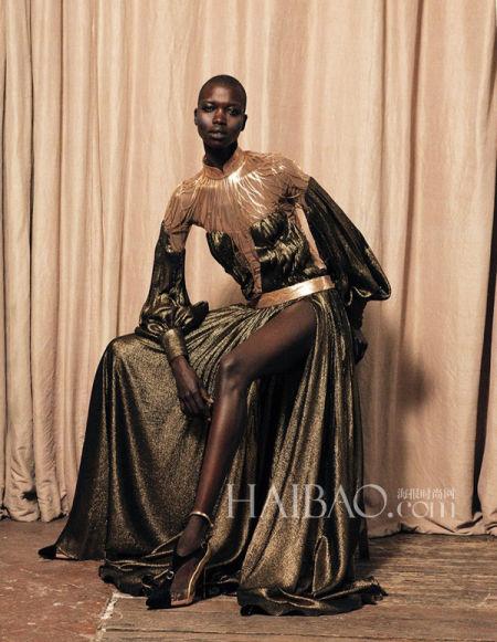 从时尚大片中汲取新娘礼服与婚纱照拍摄灵感