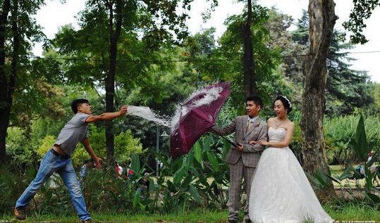 浪漫婚纱照拍摄小心机告知你不知道的取景秘密