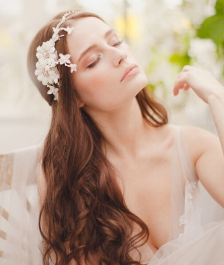 待嫁新娘唯美婚纱头饰回归二十世纪复古魅惑