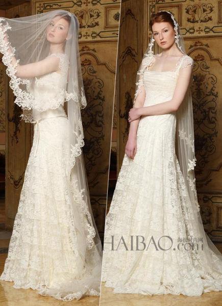 以公爵艺术家的珠宝作品为灵感打造奢华嫁衣