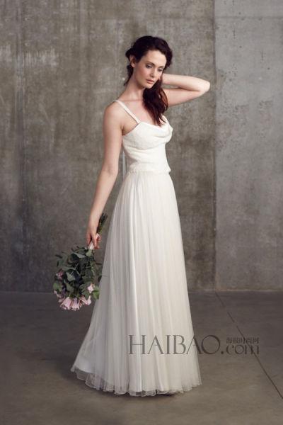 来自伦敦的小众婚纱品牌温暖元素无惧冬日严寒