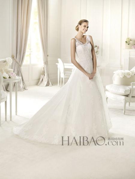 国际秀场婚纱礼服优雅演绎平价奢华(组图)