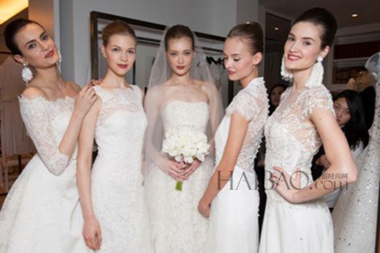 国际秀场婚纱礼服 优雅演绎平价奢华 组图图片