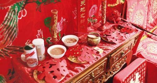 中国四大婚礼习俗送礼一定要有好意头(组图)
