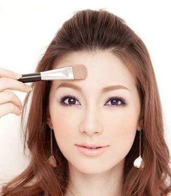 新娘妆化妆步骤图解动人妆容六步搞定(组图)