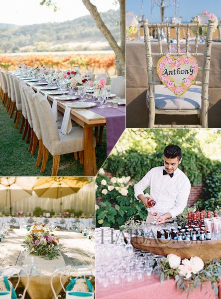 2015婚礼流行趋势个性结婚仪式中度过幸福时光