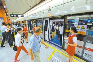 宁波轨交2号线,26日开通试运行,20万人次搭乘地铁