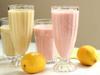 芒果草莓酸奶昔