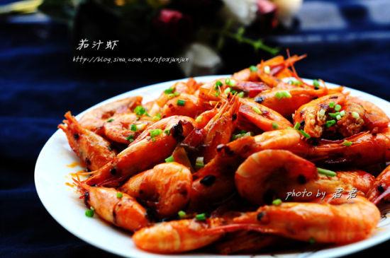 鲜嫩酸甜茄汁虾