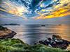 碧水蓝天里游象山渔山岛