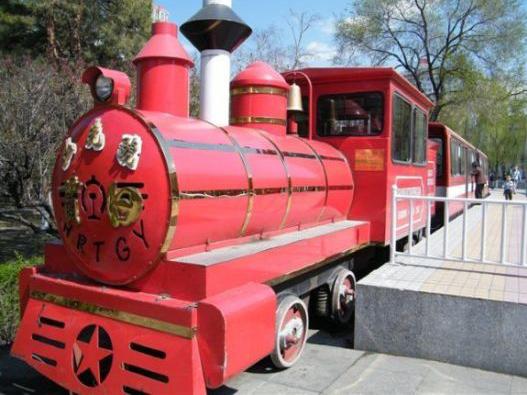 儿童铁路主题游