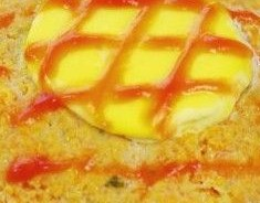 蛋黄蒸肉饼